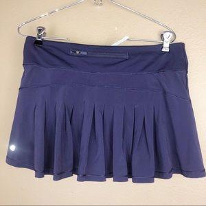 LULULEMON | Purple Pleated Skirt Sz 8